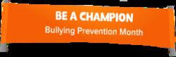 Bullying Prevention Month Logo