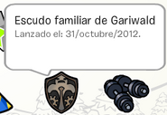 Escudo familiar de gariwald