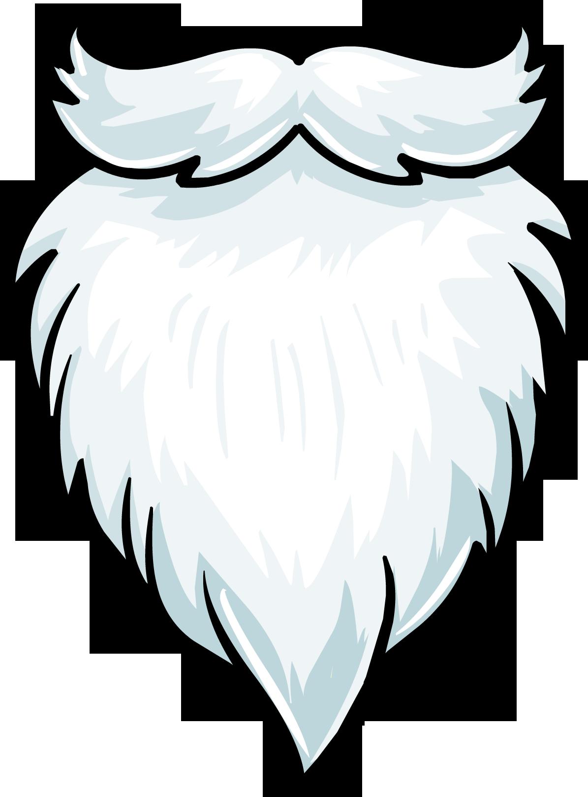 White Fuzzy Beard | Club Penguin Wiki | FANDOM powered by Wikia