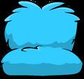 Fuzzy Blue Couch sprite 001
