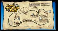 Island Adventure Party 2010 login screen map
