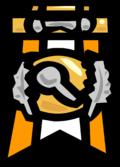Medallamision5estampilla