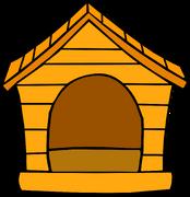 Orange Puffle House sprite 001