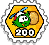 Puffle Bonus Stamp