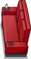 Red Designer Couch sprite 010