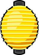 Yellow Paper Lantern sprite 001
