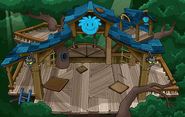 Blue Puffle Tree House sprite