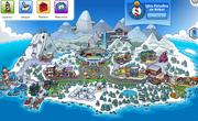Mapa de la Copa Club Penguin