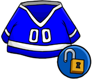 Blue Hockey Jersey clothing icon ID 10278