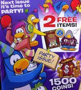 Club Penguin UK issue
