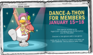 Dance-A-Thon Ad CPT issue 170