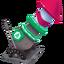 Fuegos artificiales navideños icono