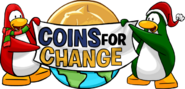 Logo Coins for Change 2007