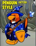 October Penguin Style