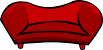 Red Plush Couch icon