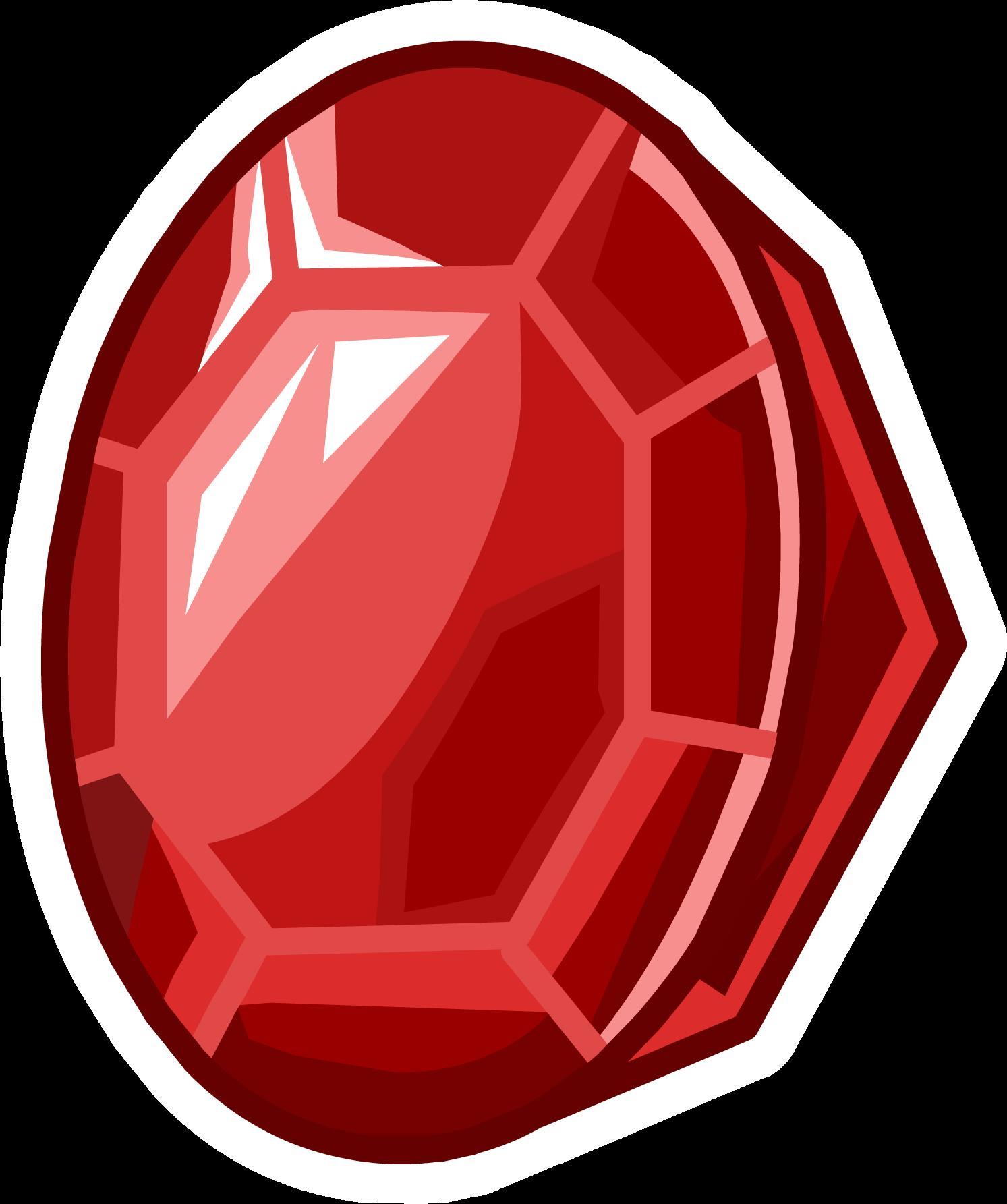 Ruby Pin