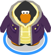 Purple Parka In-Game