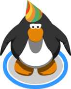 5th Year Party Hat in-game