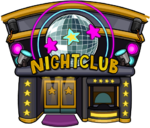 Night Club Building Marvel Super Hero Takeover 2012
