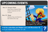 Pirate party newspaper upcoming events