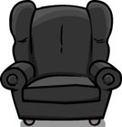 Plush Gray Chair sprite 001