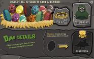 Prehistoric 2013 Dino Eggs full nonmember