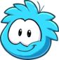 Puffle 2014 Transformation Player Card Blue