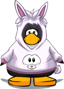 Cangurito de Conejo Blanco carta