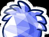 Blue Crystal Puffle Pin