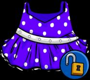 Purple Polka-dot Dress icon