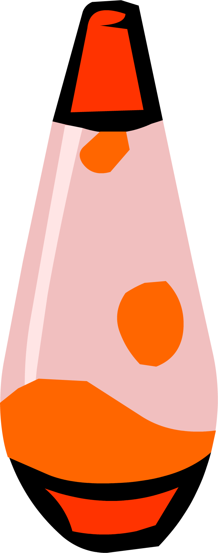 Lovely Red Lava Lamp