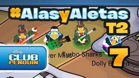 Alasyaletas Villancicos pingüinos Club Penguin oficial