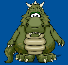 Dinosaurus Rex costume