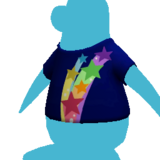 Rainbow Star Tee icon