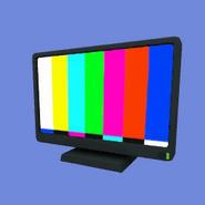 TV con Estante Icono