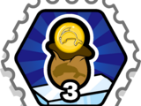 3 Coin Bags stamp (Puffle Rescue)