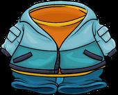Blue Snow Jacket
