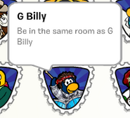 G Billy stamp stampbook