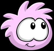 Pink PuffleLookingRight