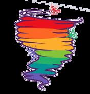 Rainbow Tornado