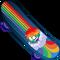 Skate Multicolor icono