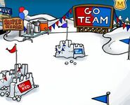 Snow Forts Sports Party