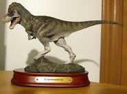 Tyrannosaurusstatue