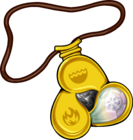 Amulet icon snow gem
