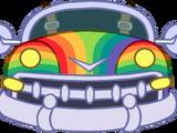 Coche Multicolor