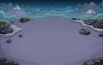 Montaña Ubicación de Noche