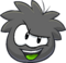 Puffle 2014 Transformation Player Card Black