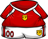 Red Soccer Jersey