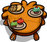 Rustic Puffle Table sprite 002