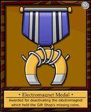 Electromagnet Medal